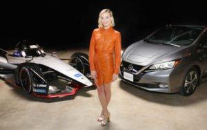 Margot Robbie Nissan Formula E